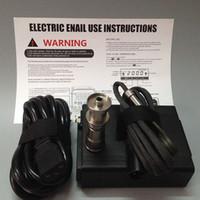 Новый титановый гвоздь электрический блок ногтей регулятор температуры коробка ногтей паровая катушка D ногтей Титана ногтей нагреватель для DIY курения