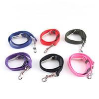 6 colores gato perro asiento de seguridad del coche arnés cinturón de mascota ajustable cachorro perrito vehículo cinturón de seguridad correa de plomo para perros WA0319