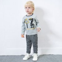 Yingzifang 2017 Autumn Boys Baby Casual Cartoon Long SleeveT...