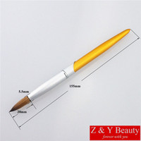 Wholesale- Factory Direct, Size 08, 100% Kolinsky Nail Brush #...