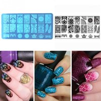 New Nail Art Stamping Stamp Template Image Plates Cool stain...