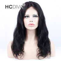 HOT 360 Lace Front Wigs 150% Density Pre Plucked Brazilian V...
