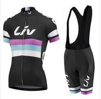 Envío gratis 2016 Merida liv Mujer ciclismo conjunto manga corta ciclismo jersey + babero kit corto maillot + culote ropa ciclismo