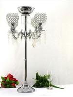 цветок стенд страусиное перо украшения свадебные центральные сцены