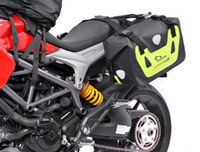 Alta qualità Motorcycle Racing Safety Outdoor Riding Pacchetto di grandi dimensioni Riflettente Avvertenza Bagaglio Borsa da sella Borsa da sella 100% impermeabile