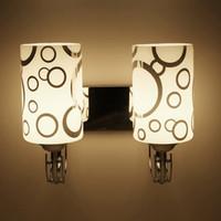 Chegada Nova Wall Light Modern Simples Estilo Cristal LED cabeceira Lâmpada de parede Quarto arandela Fixação de lâmpada # 14