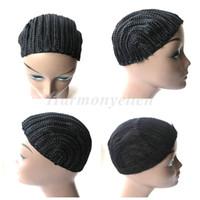 1pc / lot Tappo per parrucca per cornrow per cucire più facilmente, tappi per parrucca intrecciati con uncinetto, tappi per fare parrucca, cappucci per parrucca all'uncinetto