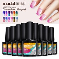 Modelones 10Pcs 10ml Fashion Color Change Nail Gel Long- last...