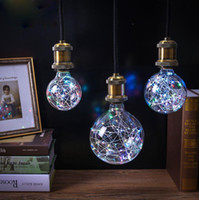 Vintage Globe Edison Light Bulb LED Starry String Lights 3W ...