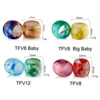 Colorful TFV8 Baby Replacement Resin Tube TFV8 Big Baby TFV1...
