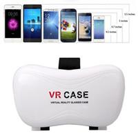 VR Case جوجل كرتون حالة الواقع الافتراضي 5 جودة عالية والعتاد VR صندوق 2.0Version سماعة BOX لاسلكي للتحكم عن بعد 1ps / lot