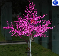 LED Cherry Blossom Tree Light 1536pcs LED Bulbs 2m Height 11...
