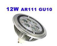 12W GU10 LED Spot Ampoule QR111 AR111 Bombillas Fixture 220V 110V pour Magasin De Vêtements Décoration Éclairage 6x 2W Blanc chaud Blanc froid