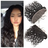 13x4 Wet And Wavy Full Lace Frontal Closure Virgin Brazilian...