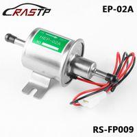 RASTP de alta calidad universal Diesel Gasolina Gasolina Bomba eléctrica de combustible HEP-02A 12V de baja presión Oro Plata RS-FP009