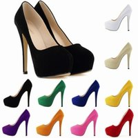 Zapatos Mujer Fashion Womens Concealed Platform Stiletto Hig...
