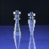 Handwerkzeuge Top-Qualität 10mm 14mm19mm 6 in 1 domeless Spiral-Titan-Nagel mit männlichem und weiblichen Gelenk