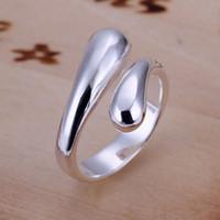 Envío libre al por mayor de las mujeres 925 plata esterlina de la manera suena la joyería para regalos R012