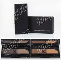 New Professional Makeup Eyes 2 Colors Eyebrow Powder Eyebrow Enhancers!3g
