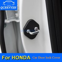 4PCS Couverture de protection de la porte de la porte pour HONDA CRV VEZEL HRV Accord City Cit Civic Jade JADE JAZ JAZ Verrouillage de la porte de la porte de la décoration automatique