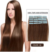 Wholesale skin weft hair extensions in hair extensions buy cheap 6 tape in human hair extensions human tape in hair extensions skin weft 16 24 top quality type hair pieces pmusecretfo Images