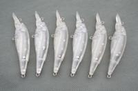 PCS20 UNPAINTED FISHING LURES 조종 된 크랜 배트 바디 11.7g