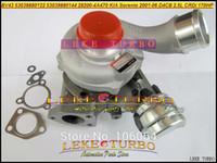 BV43 53039880122 53039700122 53039880144 53039700144 28200-4A470 Turbo Turbocompressore per KIA Sorento 2001-06 D4CB 2.5L CRDi 170HP