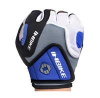 Inbike الدراجات قفازات نصف اصبع قفازات دراجة جل الوسادة سباق الدراجات قفازات guantes ciclismo luva guantes bisiklet IF239