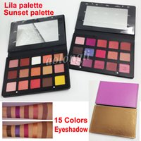 In stock 15 Color Eyeshadow Palette Shimmer and Matte Lila P...