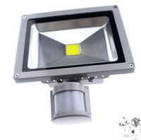 CA 85-265V 10W 20W 30W 50W 70W 100W PIR Projecteur LED extérieur Lampe LED pour projecteur avec détecteur de mouvement spot
