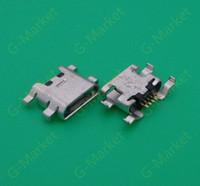 ZTE Blade S6 5.0 mikro usb şarj şarj konektörü fişi dock soket portu için Toptan-50PCS / LOT