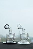 Mini Glaspfeifen mit innerem Diffusor Perc Griff Pfeifen Glaspfeifen mit 10 mm Außengewinde