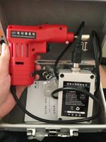New Dimple Lock Electronic Bump Pick Pistola con 20 perni per blocco Kaba, strumenti di fabbro, taglierina, blocco