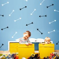 30Sets lot Arrow vinyl wall stickers Children bedroom wall a...