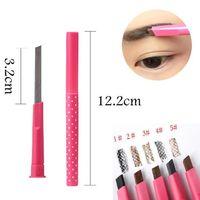 Pro Damen wasserdicht langlebig braun Augenbrauenstift Augenbrauen Eyeliner Stift Make-up kosmetische Schönheit Werkzeuge maquillage Drop Shipping