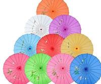 colores surtidos con diseños de flores pintados a mano boda novia sombrilla sombrilla de seda