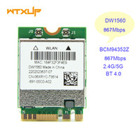 Wholesale- WiFi Wireless Network Card BCM94352Z NGFF M. 2 Wif...