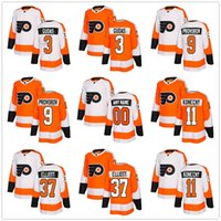 ... Orange Ice Hockey Men Full 2018 New Season Philadelphia Flyers 3 Radko  Gudas Jersey Make Custom 9 ... 9f2138330