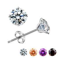 5 pcs per lot 925 sterling silver earrings China wholesale j...