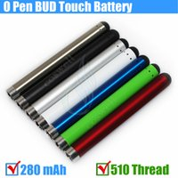 Bud touch Colorful battery 280mah 510 Thread O Pen CE3 atomi...