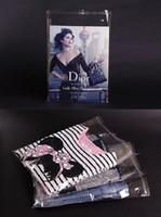 Livraison gratuite 500 pcs / lot 11 * 20 cm Auto-Adhésif Joint OPP sac-refermable tout clair poche étanche à l'emballage pochette, transparent sac de bijoux
