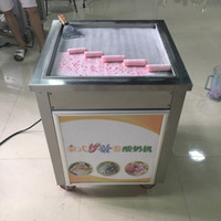 50 Cm Pan Ice Cream Roll Machine Smart Thai Fry with Fried Y...