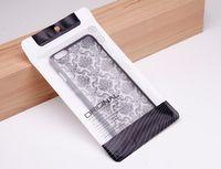 12 * 21.2cm 11 * 18.9cm 500pcs / lot Plastic Retail Packaging Package Pouch Bag för mobiltelefonväska Tillbehör till iPhone 5 6 6s