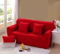 195 230cm Modern Pure Color Fashion Sofa Covers For Living Room Sofa Cover  Stretchable Sofa Cushion Washable Slipcovers Cheap
