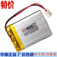 코어 900mAh 403350 3.7V 폴리머 배터리 403450 모바일 스피커 휴대 전화 스캔 코드 악기