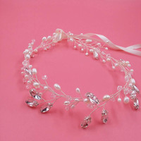 2016 Bridal Hair Accessories Cheap Pearls Headbands Crystal ...