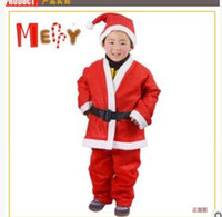 2017 Christmas clothes nonwoven fabric 4 to 6 year old boy S...