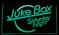 LS130-g Juke Box Saturday Night Bar Pub Neon Işık İşaret