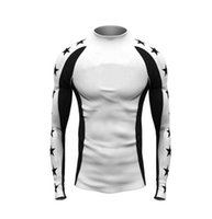 New sports print long- sleeved basketball football tight stre...