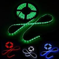 Strisce LED 5050 LED strisce LED impermeabili 60leds / m RGB 12V LED Llights Nastro LED flessibile